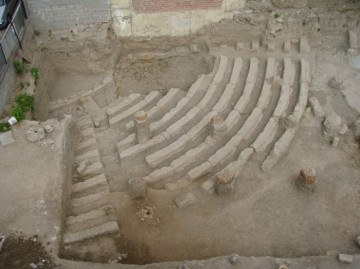 The ancient theatre of Acharnes