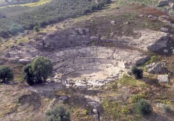Το αρχαίο θεάτρο Γόρτυνας (πηγή: site Υπουργείου Πολιτισμού)