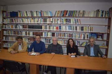 Στιγμιότυπο από τη συνάντηση εργασίας