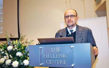 Χαρισματικός ομιλητής ο δρ Κ. Μπολέτης, ο οποίος αναφέρθηκε σε όλες τις πτυχές του μνημείου του Θρασύλλου