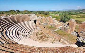 Ιδανικό το πάντρεμα της ελληνιστικής και της ρωμαϊκής εποχής στη Νικόπολη, το «καμάρι» του Οκταβιανού.