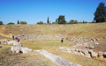 Το αρχαίο θέατρο της Ερέτριας
