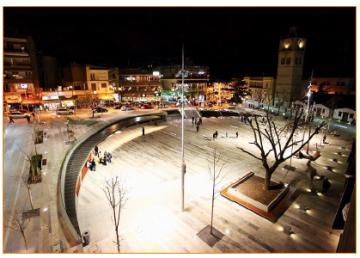 η νέα πλατεία της Κοζάνης