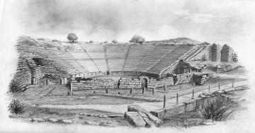 Αρχαίο Θέατρο Δωδώνης, έργο του κ. Λέανδρου Σπαρτιώτη