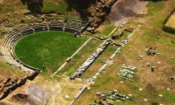 To Αρχαίο Θέατρο της Μεγαλόπολης