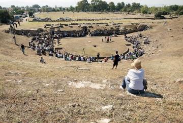 Αρχαίο θέατρο Ερέτριας.