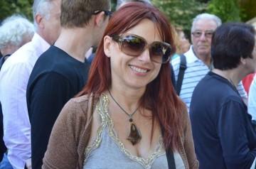 Η κ. Μ.Μπελογιάννη (πρόεδρος Ελεγκτικής επιτροπής Διαζώματος)