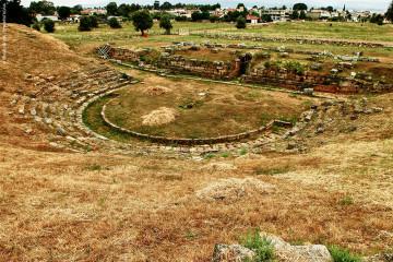 Το αρχαίο θεάτρο της Ερέτριας