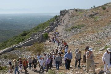 Επίσκεψη στον αρχαιολογικό χώρο της Αρχαίας Πλευρώνας (2016).
