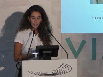 Η κ. Τσουρουκίδου Γεσθημανή Υπεύθυνη Επικοινωνίας και Marketing Επιστημονικής Ομάδας «Οψόμεθα εις Φιλίππους»