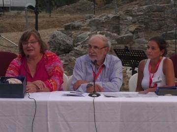 Εργασίες τις Ι΄Γενικής Συνέλευσης στο αρχαίο θέατρο της Μαρώνειας