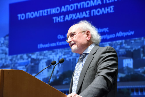 Mr. Panos Valavanis, Professor of Classical Archeology