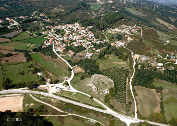Αεροφωτογραφία του «Προαστείου» της Νικόπολης (αρχείο ΛΓ΄ ΕΠΚΑ)