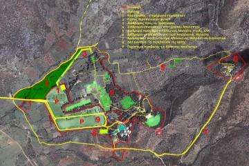 Εικ. 2: Χάρτης Διαδρομών στο Ασκληπιείο της Επιδαύρου