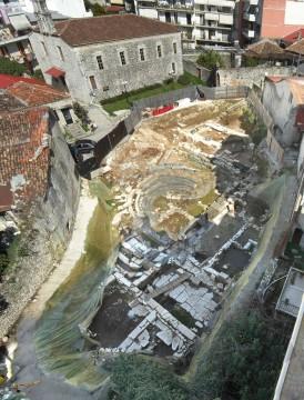 The ancient theatre in Amvrakia