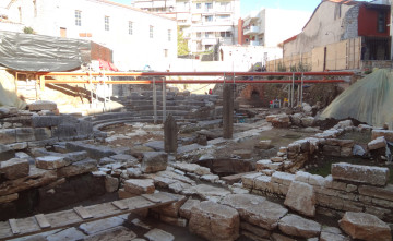 The ancient theatre of Amvrakia