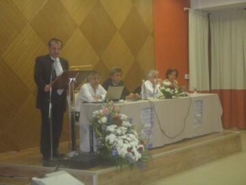 Στιγμιότυπο από την εκδήλωση που πραγματοποιήθηκε στο ξενοδοχείο ΕΛΙΣΣΩ στην Ξάνθη με θέμα «Η αναβίωση του Αρχαίου Θεάτρου Αβδήρων». Στο βήμα ο τότε Νομάρχης, κος Γιώργος Παυλίδης (Μάιος 2010)