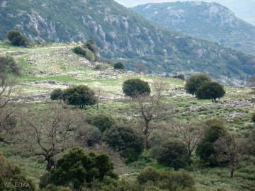 Το μικρό Θέατρο (ή Βουλευτήριο) της Κασσώπης. Γενική άποψη (αρχείο ΛΓ΄ ΕΠΚΑ)