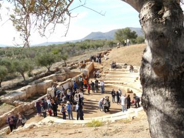 Εκδήλωση στο αρχαίο θέατρο Απτέρας.