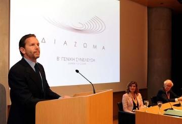 Greek Minister of Culture, Pavlos Yeroulanos.