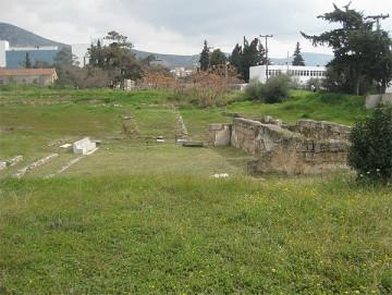 Το αρχαίο θέατρο του Ευωνύμου (Τραχώνων Αττικής).