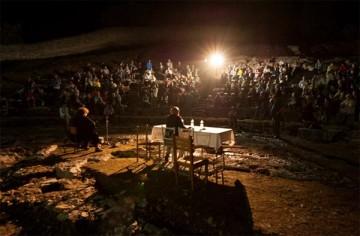 Η Γενική Συνέλευση του «ΔΙΑΖΩΜΑΤΟΣ» στο αρχαίο θέατρο του Ορχομενού Βοιωτίας.