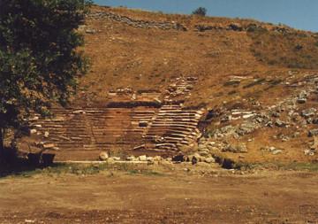 Το αρχαίο θέατρο των Γιτάνων