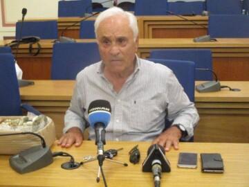 Ο καθηγητής Αρχαιολογίας και αντιπρόεδρος του Διαζώματος, κ. Πέτρος Θέμελης