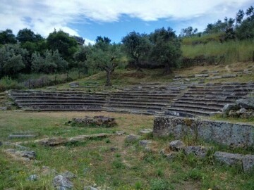 Το Αρχαίο Θέατρο στο Γύθειο