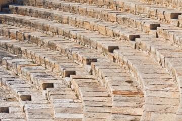 Tο αρχαίο θέατρο Κουρίου