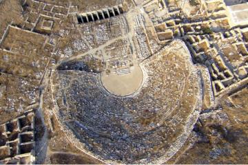 le theatre antique de Delos