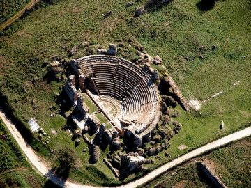 the Nikopolis Ancient Odeon, in Preveza