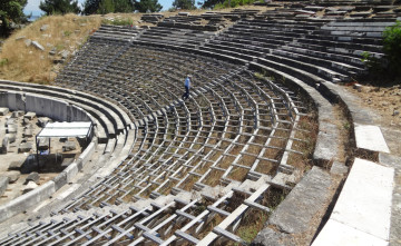 the ancient theater of Thassos