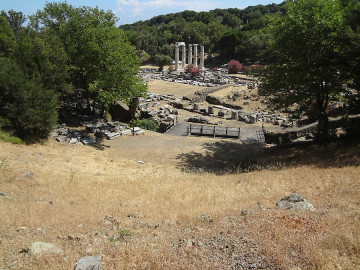 the theatre of Samothrace